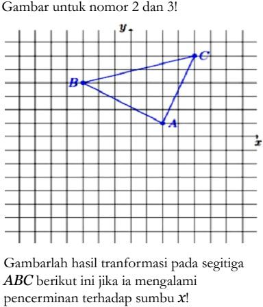 Transformasi Geometri Dasar Soal Zenius Net