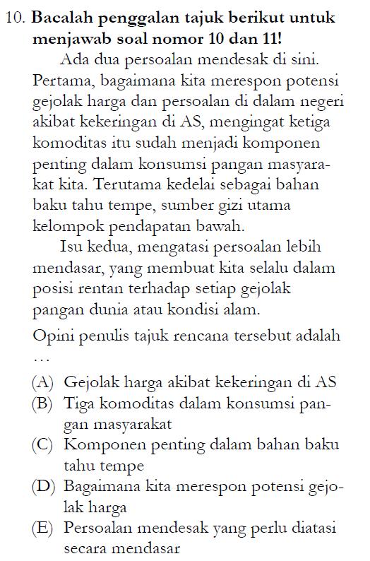 Soal Un Sma 2013 Bahasa Indonesia Zenius Net