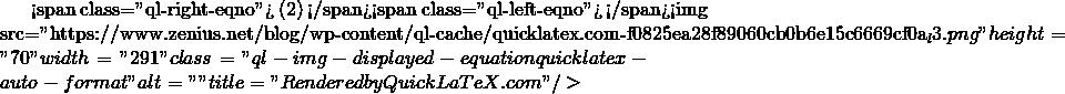 "<span class=""ql-right-eqno""> (2) </span><span class=""ql-left-eqno"">   </span><img src=""https://www.zenius.net/blog/wp-content/ql-cache/quicklatex.com-f0825ea28f89060cb0b6e15c6669cf0a_l3.png"" height=""70"" width=""291"" class=""ql-img-displayed-equation quicklatex-auto-format"" alt=""\begin{align*} P_0 + \rho.g.h_1-P_2 &= \rho.g.h_2 \nonumber \\ P_2 &= P_0 - \rho.g.(h_2-h_1) \nonumber  \\ P_2 &= P_0 - \rho.g.\Delta h \end{align*}"" title=""Rendered by QuickLaTeX.com""/>"