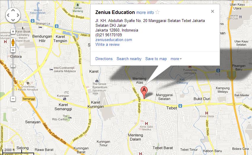 google map zenius