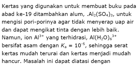 Contoh Soal Kimia 14