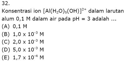 Contoh Soal Kimia 15