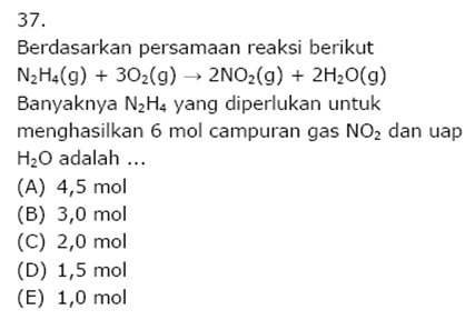 Contoh Soal Kimia 19