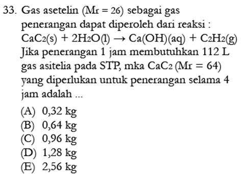 Contoh Soal Kimia 4