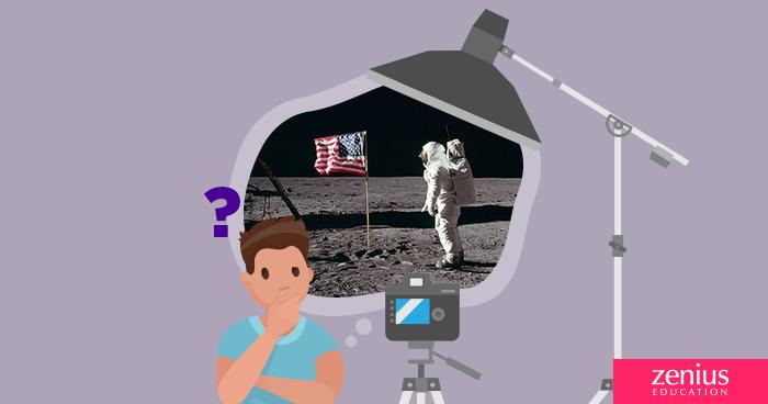 Neil Armstrong Mendarat di Bulan, Masa sih? 58