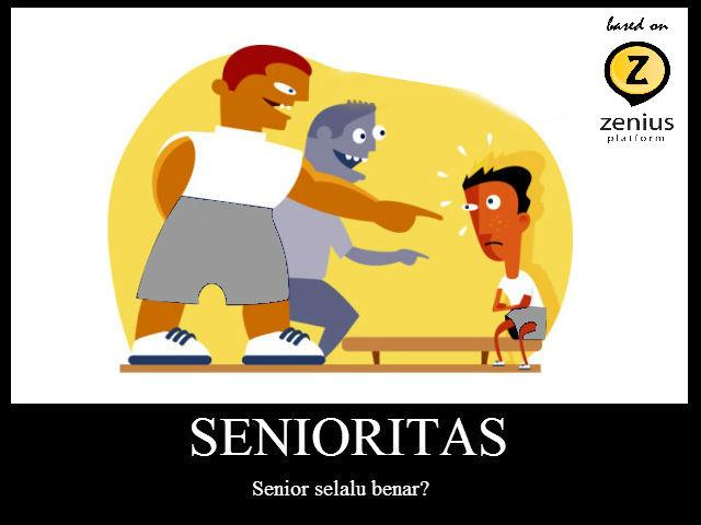 senioritas di sekolah