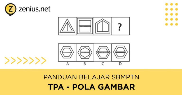 Panduan Belajar SBMPTN TPS / TPA: Tipe Soal Pola Gambar 37