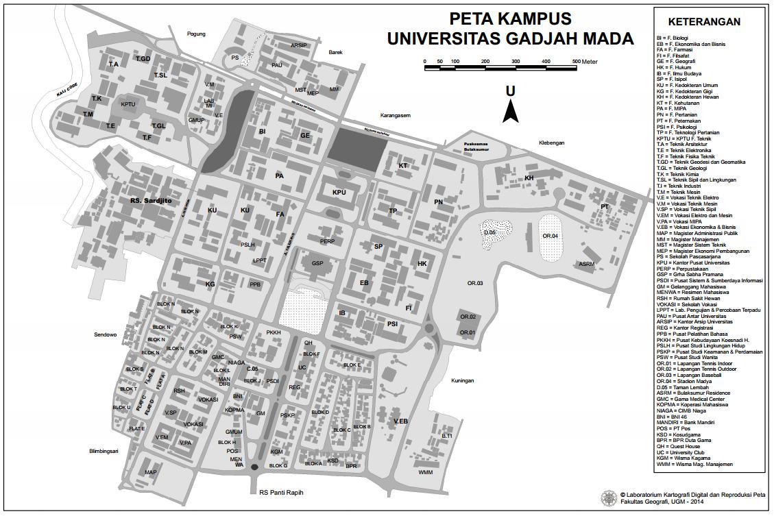 Peta UGM