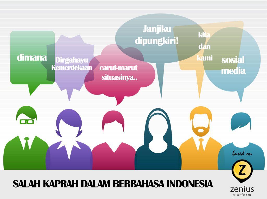salah kaprah bahasa indonesia