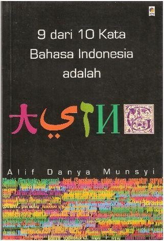 9 dari 10 Kata Indonesia adalah Asing