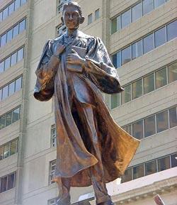 Gandhi-statue-in-Joburg