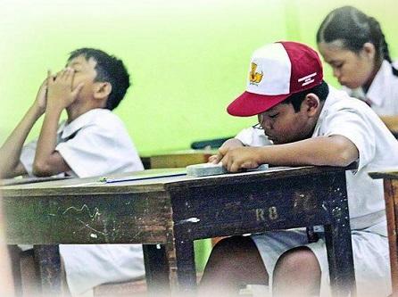 siswa bosan