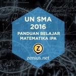 Tips Persiapan Belajar UN SMA Matematika IPA 1