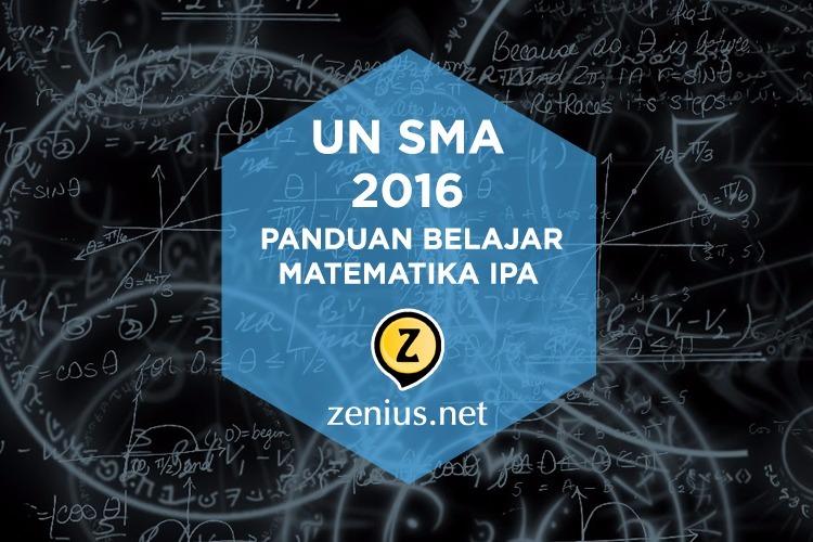 persiapan UN SMA Matematika IPA 2016