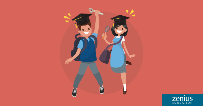 Kata Siapa Anak SMK Gak Bisa Kuliah di Universitas Keren? 15