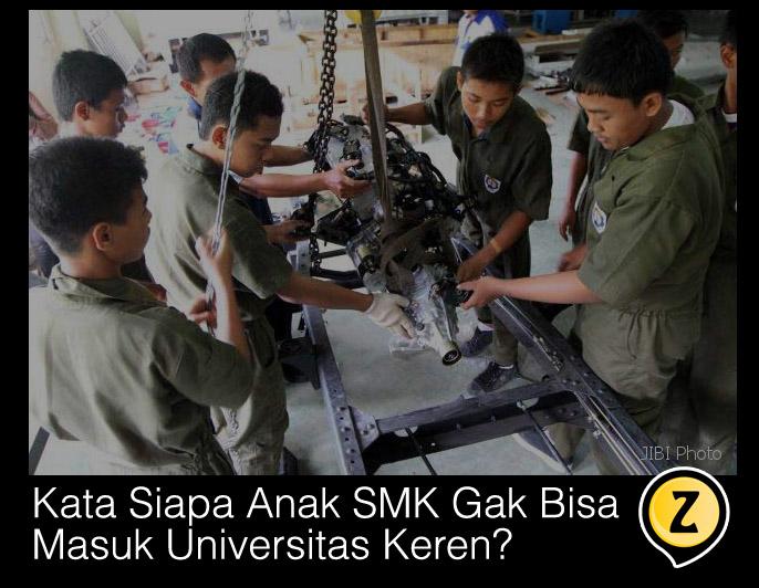 SMK Masuk Universitas