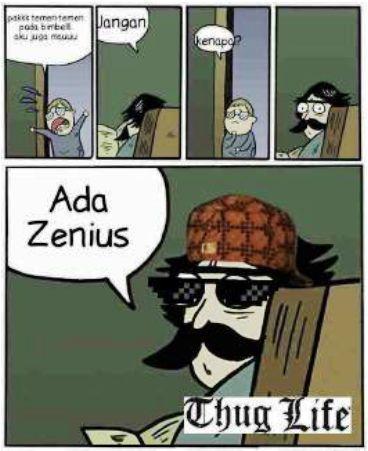ZeniusMeme: Ekspresi Gokil para Pengguna Zenius! 26