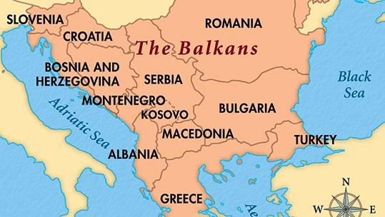 Balkans-map