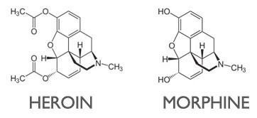 heroine & morphine