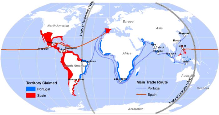 treaty map