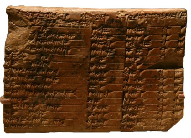 old-babylonian-clay-tablet