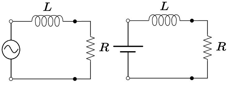 Rangkaian RL dengan arus AC dan DC