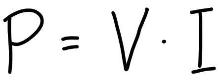 persamaan-daya-v-kali-i
