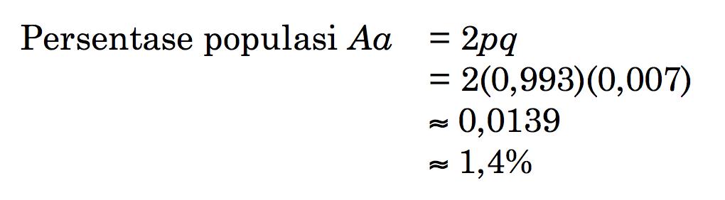 Penerapan Persamaan Kuadrat dalam Genetika 96