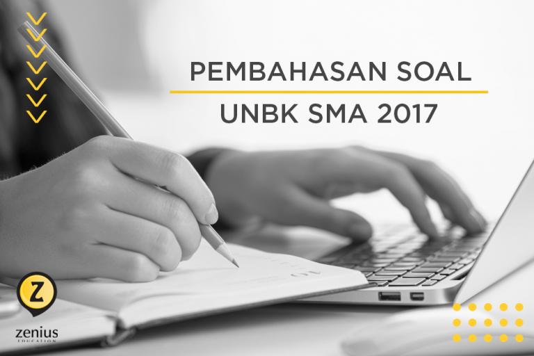 Pembahasan Soal Ujian Nasional Berbasis Komputer   UNBK SMA 2017 46