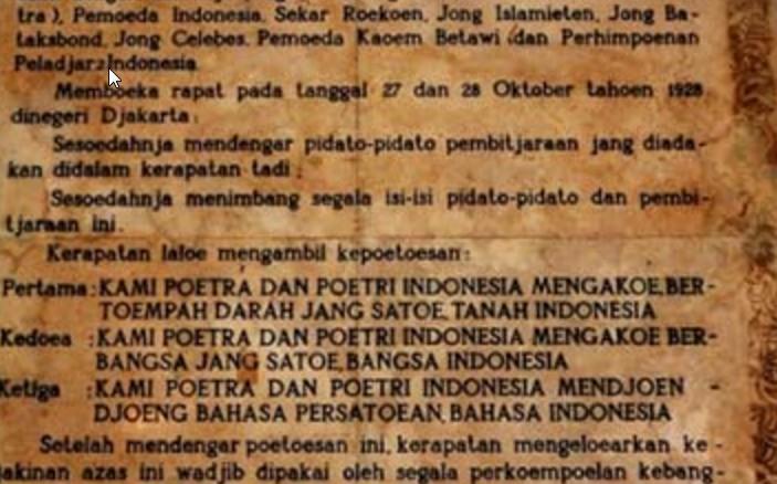 Essay Geopolitik Dengan Sumpah Pemuda Sumpah Pemuda Mengapa Bahasa Indonesia Yang Dipilih Sebagai Bahasa Persatuan Zenius Blog