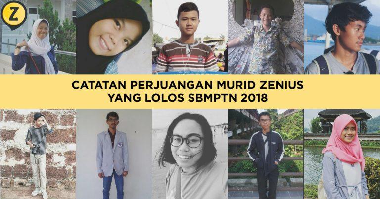 Catatan Perjuangan Murid Zenius yang Lolos SBMPTN 2018 22