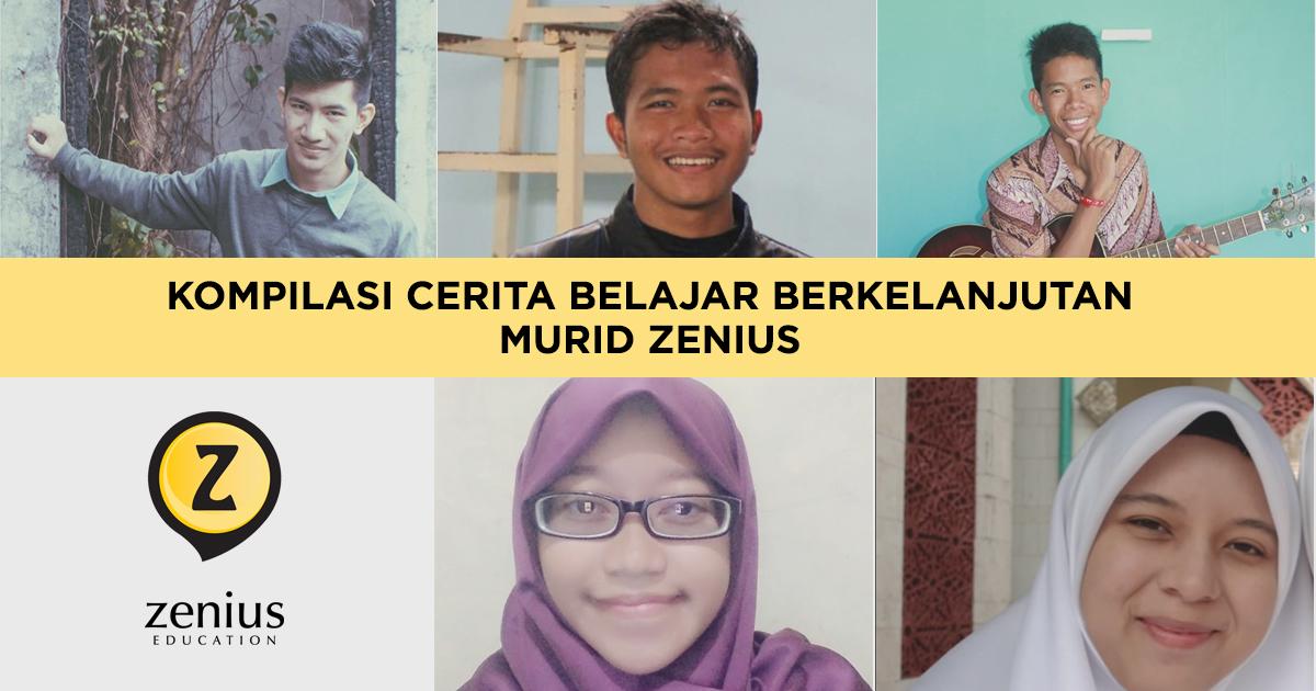 Kompilasi Pemenang Lomba Blog: Belajar Berkelanjutan karena Zenius!