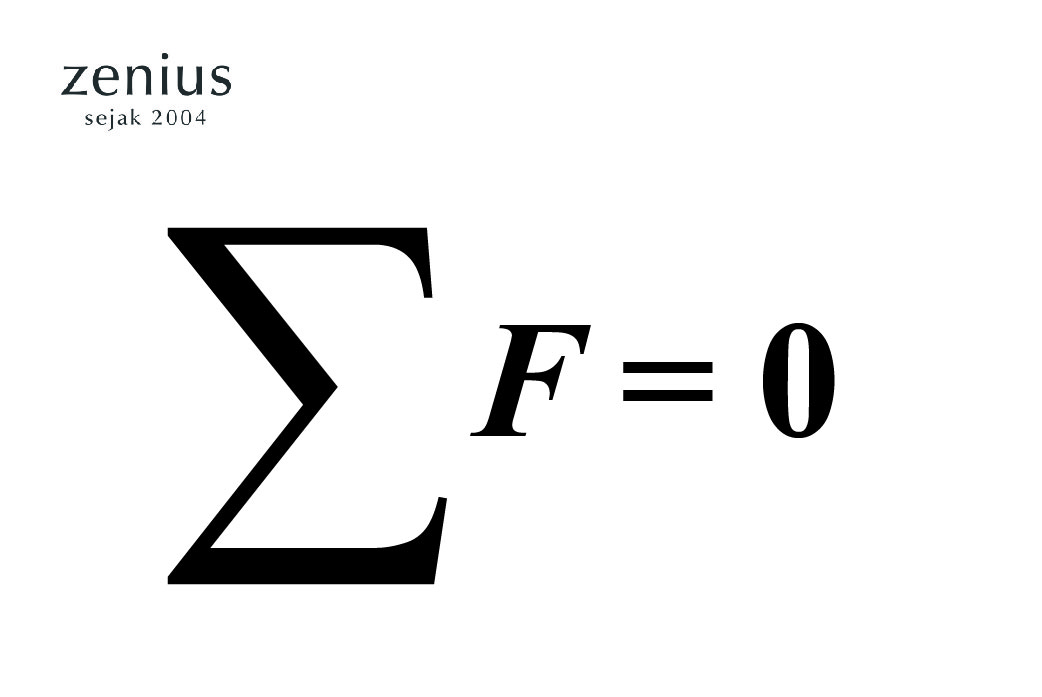 Materi Pelajaran Hukum Newton 1,2, dan 3 Beserta Contoh Soalnya