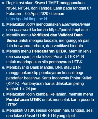 informasi LTMPT