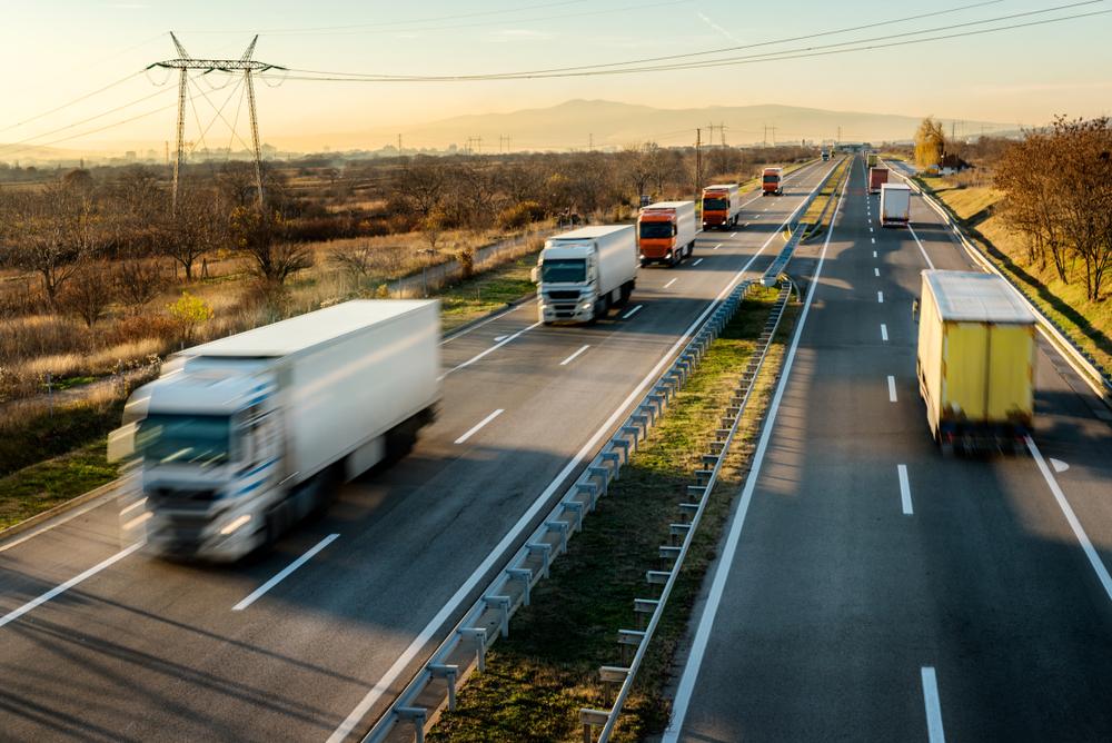 konvoi sopir truk