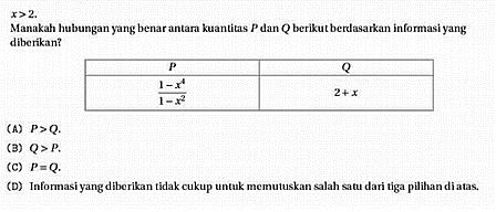 Panduan Belajar UTBK TPS Pengetahuan Kuantitatif 61