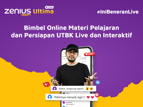 Persiapan UTBK Zenius Ultima