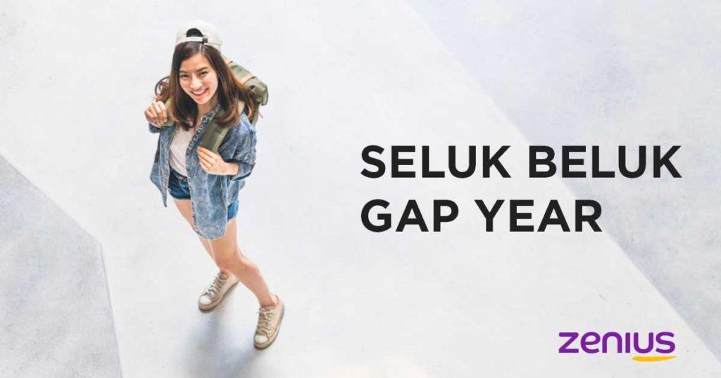 Gap Year itu bukan aib kok !