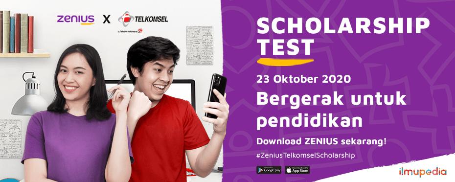 Beasiswa Belajar dari Zenius dan Telkomsel