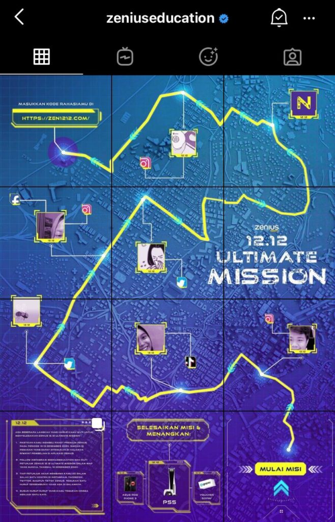Ultimate Mission Map