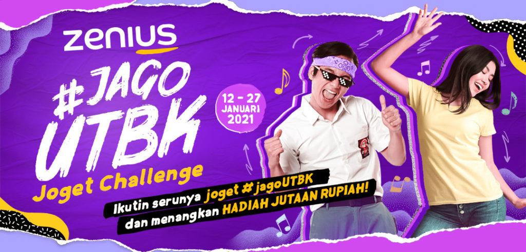 Biar Makin Semangat Belajar Yuk Ikutan Zenius #jagoUTBK Joget Challenge 9