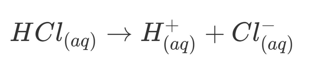 HCl larutan elektrolit