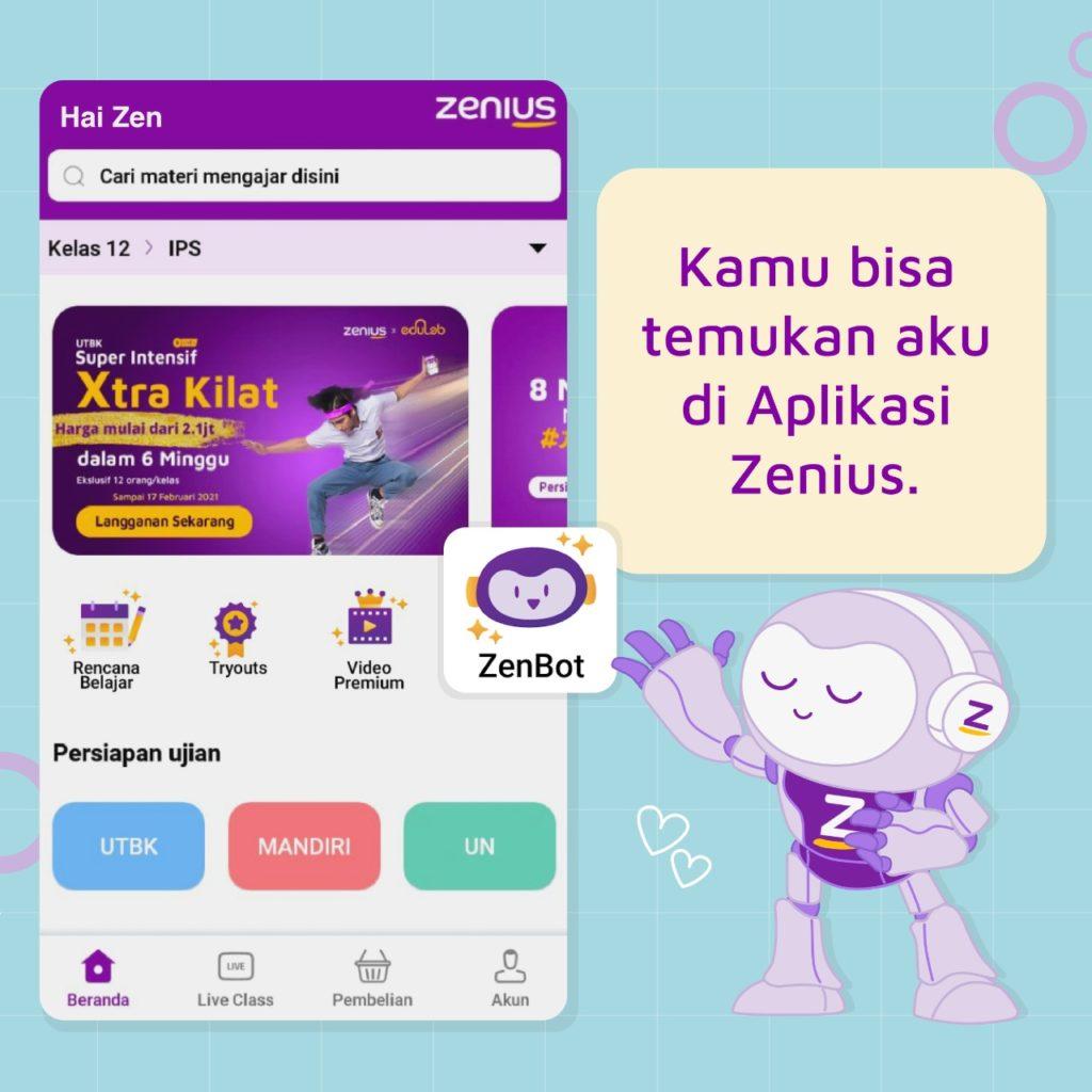 ZenBot, Solusi Persoalan Matematikamu 18