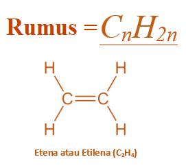rumus alkena hidrokarbon