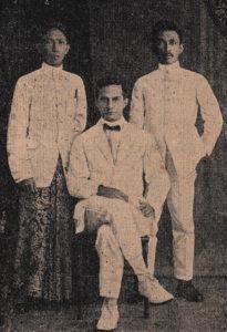 Ki Hadjar Dewantara, Douwes Dekker, dan Cipto Mangunkusumo