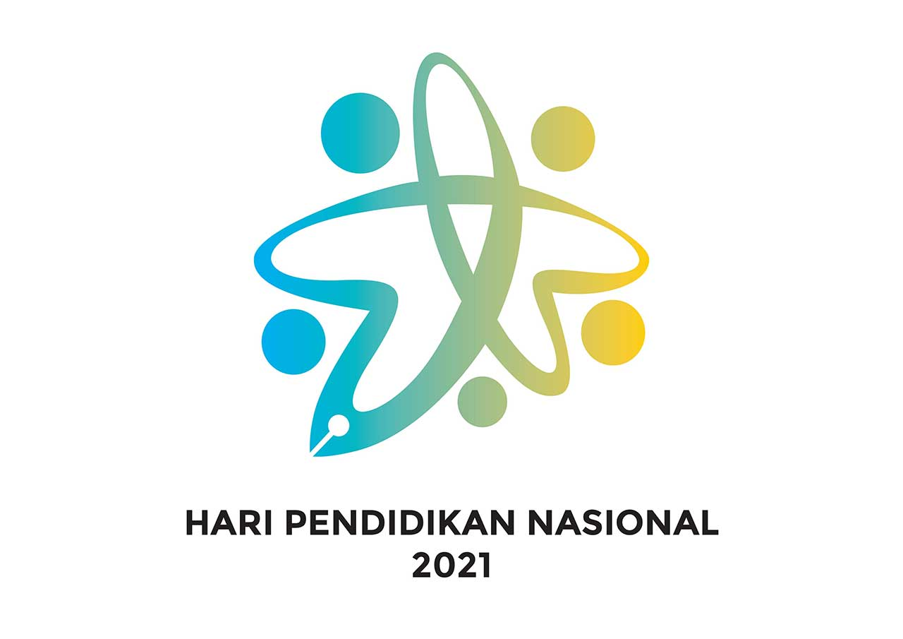 Logo Hardiknas Hari Pendidikan Nasional 2021