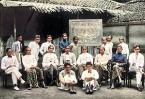Murid Sekolah Taman Siswa yang didirikan Ki Hadjar Dewantara