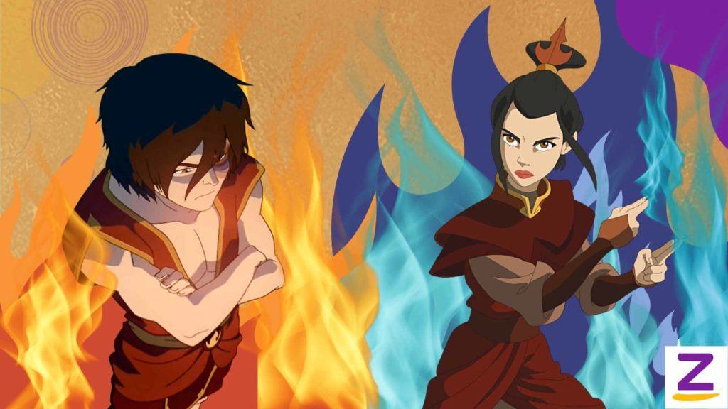 Zuko dan Azula Avatar