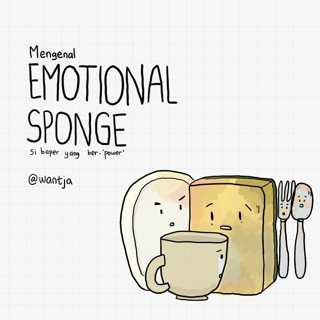 Komik: Mengenal Emotional Sponge 9