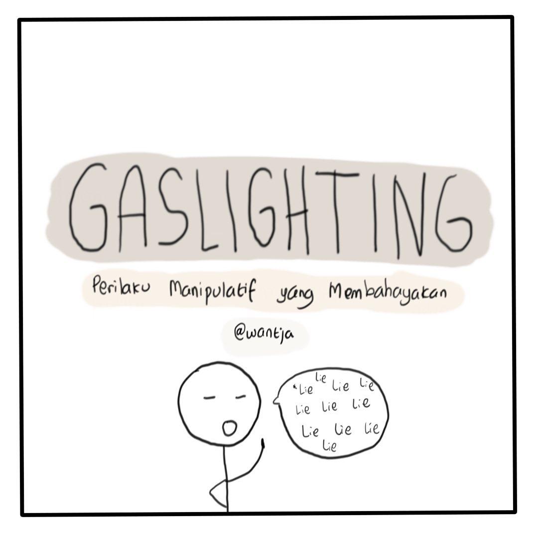 Komik: Berkenalan dengan Gaslighting 9